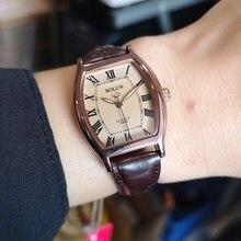 New Roman face Korean Women's wristwatch Brand Fashion Square Ladies Quartz Watch Dial Simple Rose Gold Luxury Women Watches