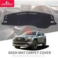 Smabee для Toyota RAV4  2019  2020  XA50 RAV 4  Dashmat  нескользящая панель для приборной панели  защитный коврик от солнца  аксессуары