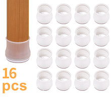 Cover Chair Caps-Foot Floor-Protector Table-Feet Movable Non-Slip Silicone Mat Cap-Pad