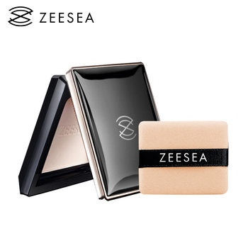 ZEESEA Loose Powder Compact Pressed Powder For Face Control Oil Lasting Concealer Waterproof High Gloss Female Repair Makeup 13g o two o 8 colors face pressed powder makeup pores cover hide blemish oil control lasting base concealer powder cosmetics 9114
