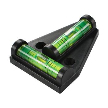 1pc Mini T-poziomica do ciężarówek części łodzi akcesoria do przyczep kempingowych stół konsolowy pomiar poziomu Bubble tanie i dobre opinie Acrylic 010518 Black