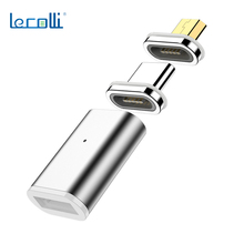 Type-C To Type-C Magnetic Transfer Connector Fast Charge Magnetic Conversion Head Blind Suction Magnetic Head Three-In-One head first c