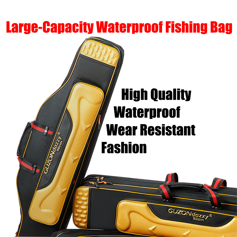 NEW Fishing Tackle Fishing Bag Thicken Oxford Cloth Waterproof and Durable Case Multi-Function Fishing backpack