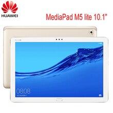 """Küresel ROM HUAWEI MediaPad M5 lite 10.1 """"3GB/ 4GB 32GB/64GB/128GB Tablet PC Kirin 659 Octa çekirdek Android 8.0 parmak izi IPS Tab"""