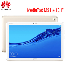 """הגלובלי ROM HUAWEI MediaPad M5 לייט 10.1 """"3GB/ 4GB 32GB/64GB/128GB Tablet PC קירין 659 אוקטה Core אנדרואיד 8.0 טביעות אצבע IPS Tab"""