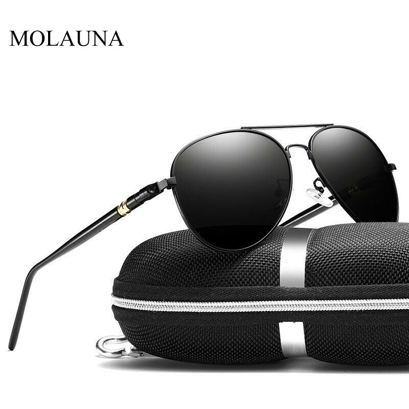 Vintage Polarized Sunglasses Men 2020 Retro Classic Pilot Sun Glasses Man Brand Designer Driving Glasses Oculos De Sol UV400