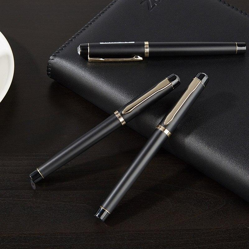 0.5/0.7/1.0mm Novelty Ballpoint Pen Business Black Pen High Quality Ball Pen For School Office Writing Supplies Stationery