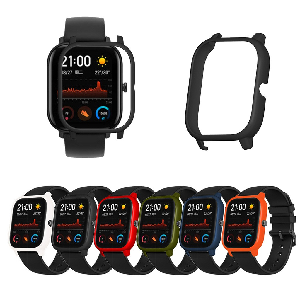 Ouhaobin Watch Case For Huami Amazfit GTS Ultra-thin Replacement PC Watch Cover Shell Protector For Smart Watch