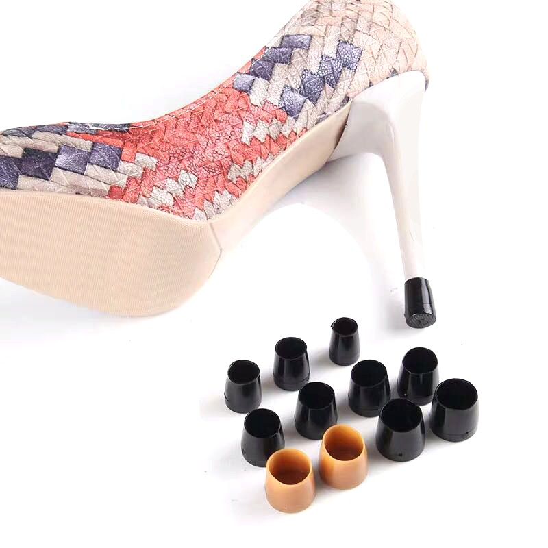 32 Pairs XS S M L High Heeler Latin Stiletto Dancing Covers Heel Stoppers Antislip Silicone High Heel Protectors Wedding Party in Shoe Care Kit from Shoes