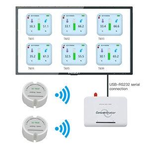 Image 1 - Logiciel gratuit 868 capteur dhumidité de la température sans fil 433mhz capteur dhumidité en temps réel température humidité enregistreur de données moniteur