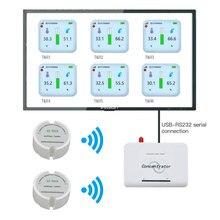 software free 868 wireless temperature humidity sensor 433mhz moisture sensor real time temperature humidity data logger monitor