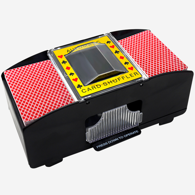 Shuffle Machine Board Game Poker Playing Cards Electric Automatic Shuffler Party Entertainment And Card Shuffler Essentials