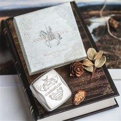 Твердый парфюм Ретро 360 ° вращающийся дизайн карманный MenGifts волшебный бальзам долговечные ароматы Романтический Свежий Кельн бальзам Parfum