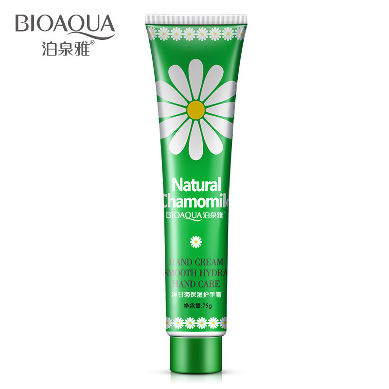 75g Chamomile Hand Cream Moisture Nourishing Moisturizing Whitening Anti Chapping Exfoliating Hand Care