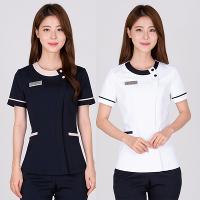 New beauty salon beautician work clothes tattoo division professional health club physiotherapy massage therapist set