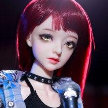 Nova chegada boneca bjd shuga fada 1/4 bjd corpo articulado removeable boneca conjunto completo resina boneca crianças brinquedos para o presente de aniversário da menina