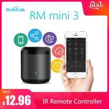 Broadlink RM Mini3 אוניברסלי אינטליגנטי WiFi/IR/4G אלחוטי IR מרחוק בקר באמצעות IOS אנדרואיד חכם בית אוטומציה 2019 חדש
