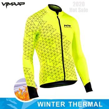 STRAVA-jersey térmico de manga larga para ciclismo, ropa para bicicleta de montaña,...