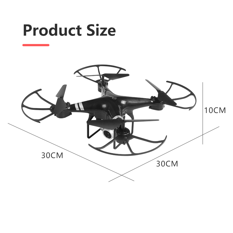 2020 New Drone 4k camera HD Wifi transmission fpv drone air pressure fixed height four-axis aircraft rc helicopter with camera 6