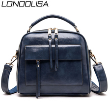 Hot Large Crossbody Bags for Women 2019 Genuine Leather Luxury