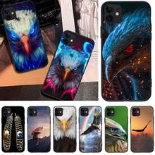 Byloving Eagle Rainbow Cross Ponsel Case PENUTUP UNTUK iPhone 5C 6 6S 7 7 Plus X XS XR XS max 11 11 Pro 11 Pro Max(China)