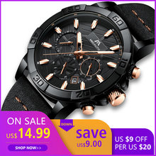 Get more info on the reloj hombre watches MEGALITH sport chronograph waterproof watch men top brand luxury luminous watch men leather horloges mannen