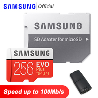 SAMSUNG EVO Plus Micro SD 128GB 64GB Speicher Karte 32GB Micro SD Karte 256GB TF Karten 512GB Flash Speicher Microsd für Telefon Tabelle PC