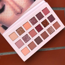 16/18 Colors Nude Glitter Eyeshadow Matte Shimmer Palette Long Lasting Waterproof Mineral Powder Eye Shadow Makeup Cosmetic Kit(China)