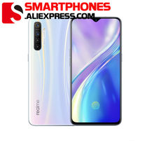 Realme X2 6.4 ''Full Screen 6G 64G Mobiele Telefoon SDM730G 64MP Quad Camera 4000Mah Vooc 30W Snel Opladen Nfc Oppo Smartphone(China)