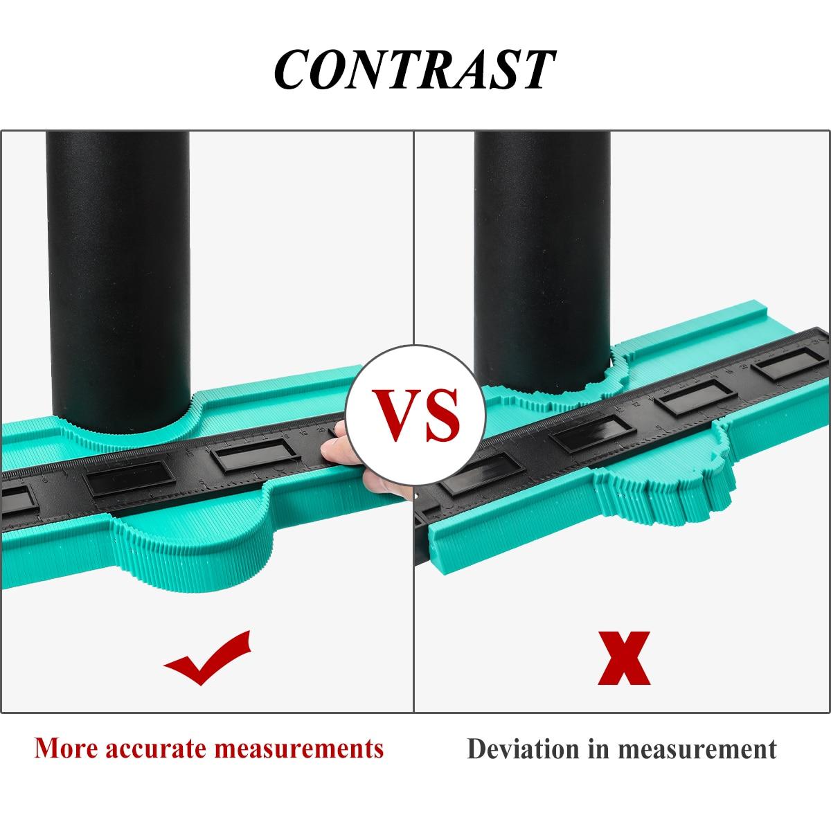 Контур Дубликатор duplo и профиль инструмент измерения метр модель контур дублирования контур Пластик контур дубликатор для копирования 12/14/...