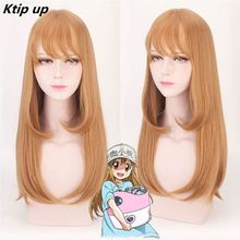 Ktip Up Cells At Work Hataraku Saibou Platelet Synthetic Long Straight Hair Brown Cosplay Wigs cells at work 1