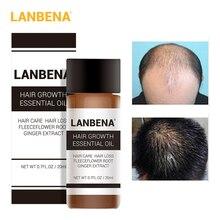 LANBENA 20 мл быстро рост волос сущность лечение против выпадения эфирное масло отрастания сыворотка по уходу для женщин для мужчин