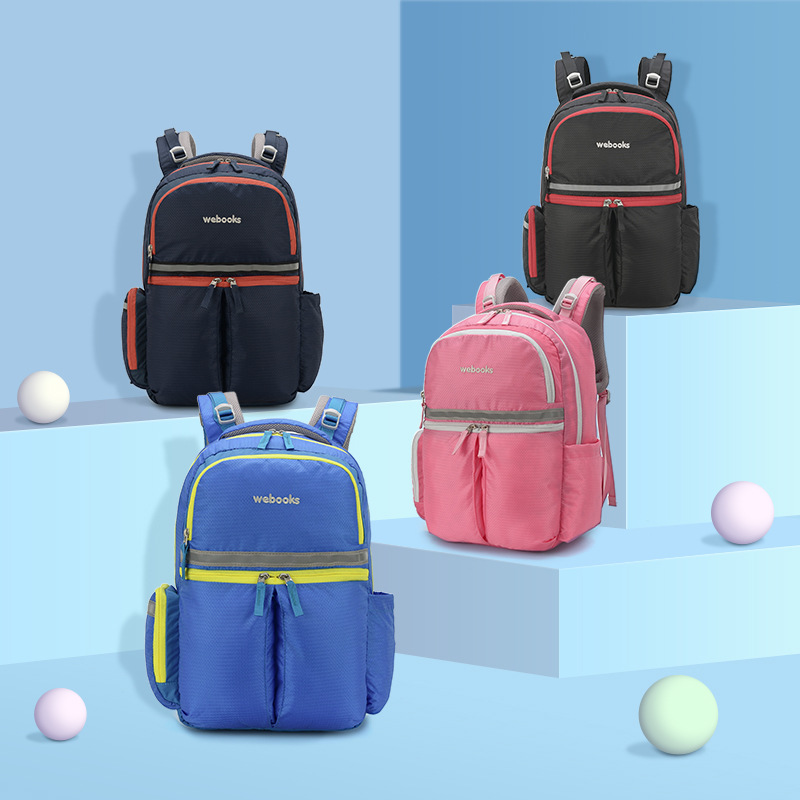 Children's schoolbag new backpack with large capacity  webook logo of schoolbag for primary school students