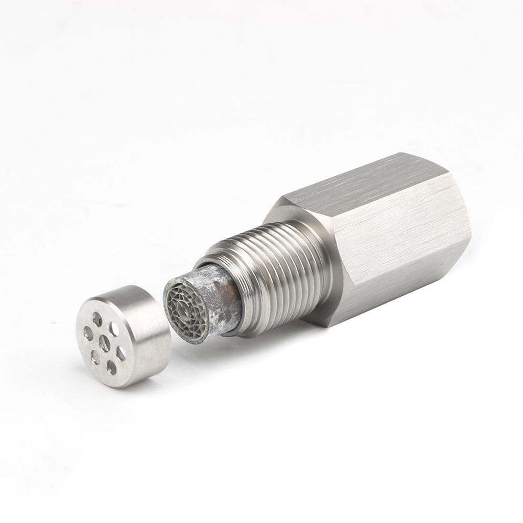 Oxygen O2 Sensor Spacer Adapter Bung Catalytic Converter Fix Check Engine Light 2
