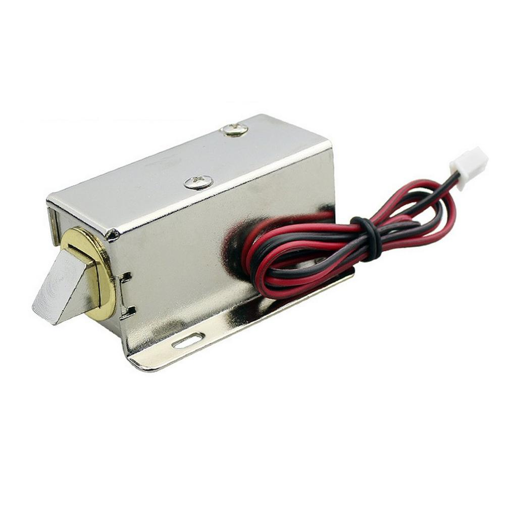 LY-03DC12V File Display Cabinet Drawer Latch Assembly Solenoid Electric Lock Fit For Desk Cabinet Window Or Safe Box
