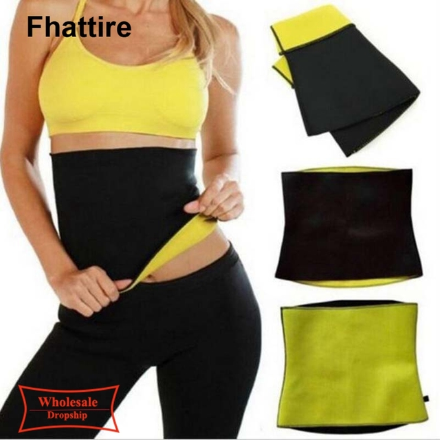 Plus Size Fitness Women Slimming Waist Belts Neoprene Body Shaper Training Corsets Cincher Trainer Promote Sweat Bodysuit 1