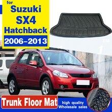 Коврик для багажника для SUZUKI SX4 Хэтчбек, подкладка для багажника SEDICI 2006-2013, защита для напольного ковра 2007 2008 - 2011 2012