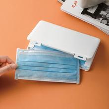 Mask-Box Folder Storage Moisture-Proof-Storage-Box Dustproof Portable Student Case Temporary