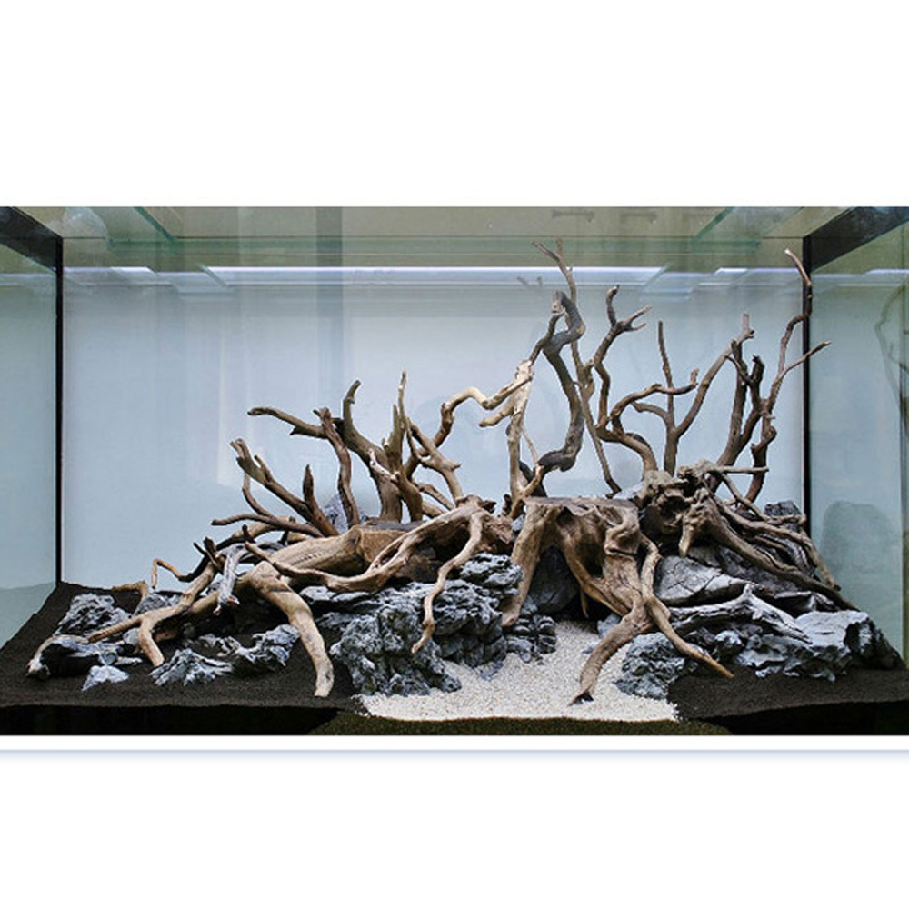 Accessories Aquarium Decoration Ornament Natural Wood Tree 15-20cm Landscape