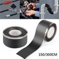 Black magic powerful self-adhesive silicone repair tape waterproof fiber high adhesion pipe sealing repair sealing tape