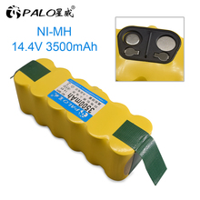 PALO 3500mAh 14.4V Battery for iRobot Roomba 500 600 700 800 900 Series Vacuum Cleaner iRobot roomba 600 620 650 700 770 780 800 new 6 armed lateral brush for irobot roomba 500 600 700 series 510 530 532 550 560 620 625 760 770 780 vacuum cleaner part
