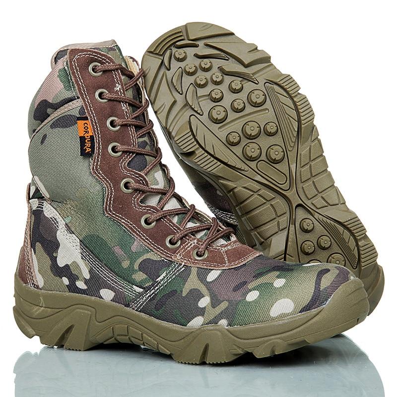 Outdoor Wandern Turnschuhe Für Männer Military Tactical Wasserdicht Camping Trekking Stiefel Mens Klettern Camo Sport Schuhe