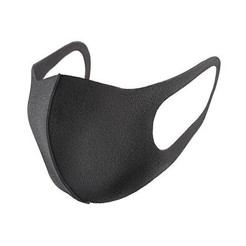 1~10 Pcs  Fashion Mask Dustproof Smog Flower Dust Automobile Exhaust Anti-bacterial Washable Reusable Comfy Masks