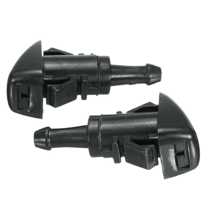 Front Windshield Wiper Washer Spray Nozzle For 08-12 Subaru Impreza Dorman Set