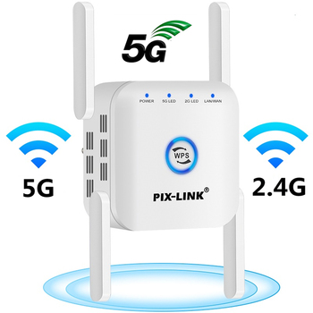 5G Wifi Repeater Wifi Extender 5ghz Wifi Amplifier 5 ghz Wireless Repeater Router Wi fi Booster 2.4G 5G Wi-Fi Signal Extender 1