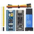 10 шт., модуль платы разработчика минимальной конфигурации STM32F103C8T6 ARM, ST-Link V2 STM8 STM32, симулятор загрузки STM32F401 STM32F411