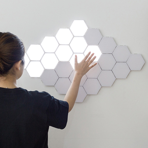 Modern LED Night Lights Quantum Lamp Modular Touch Light Touch Sensitive Lighting LED Night Light Magnetic DIY Indoor Decoration(China)