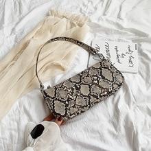 Fashion Crocodile Pattern Women Shoulder Bag Casual Pu Handbags  Crossbody Chic Ladies Alligator Messenger