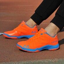 Мужская обувь для волейбола с нескользящей подошвой, легкие черные, синие, оранжевые кроссовки, мужская Спортивная повседневная обувь