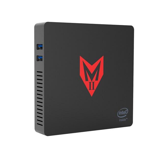 MII V Windows 10 Mini PC Computer 4GB RAM 64GB eMMC 4K Intel Apollo Lake J3355 CPU Intel HD Graphics 500